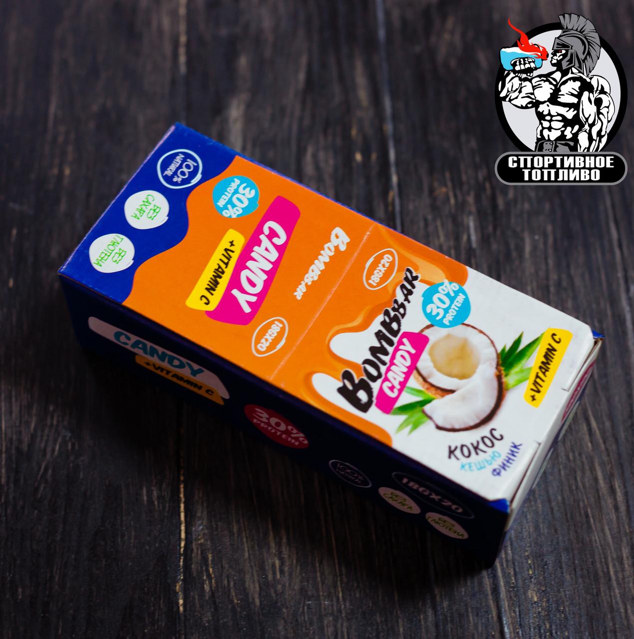 BombBar - Протеиновые конфеты (Блок 20шт)
