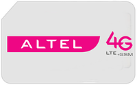 "Sim карта Altel 4G ""TURBO UNLIM"""