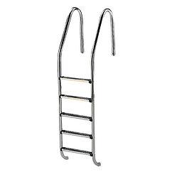 Лестница для бассейна набортная 5 ступеней