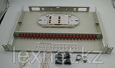 Кросс оптический OK-FDF-1U-24-SC SC/UPC SM 8 PORT  укомплектованный