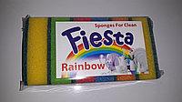 Губка для посуды Fiesta 6 шт.  Размер 90×60×30., фото 1