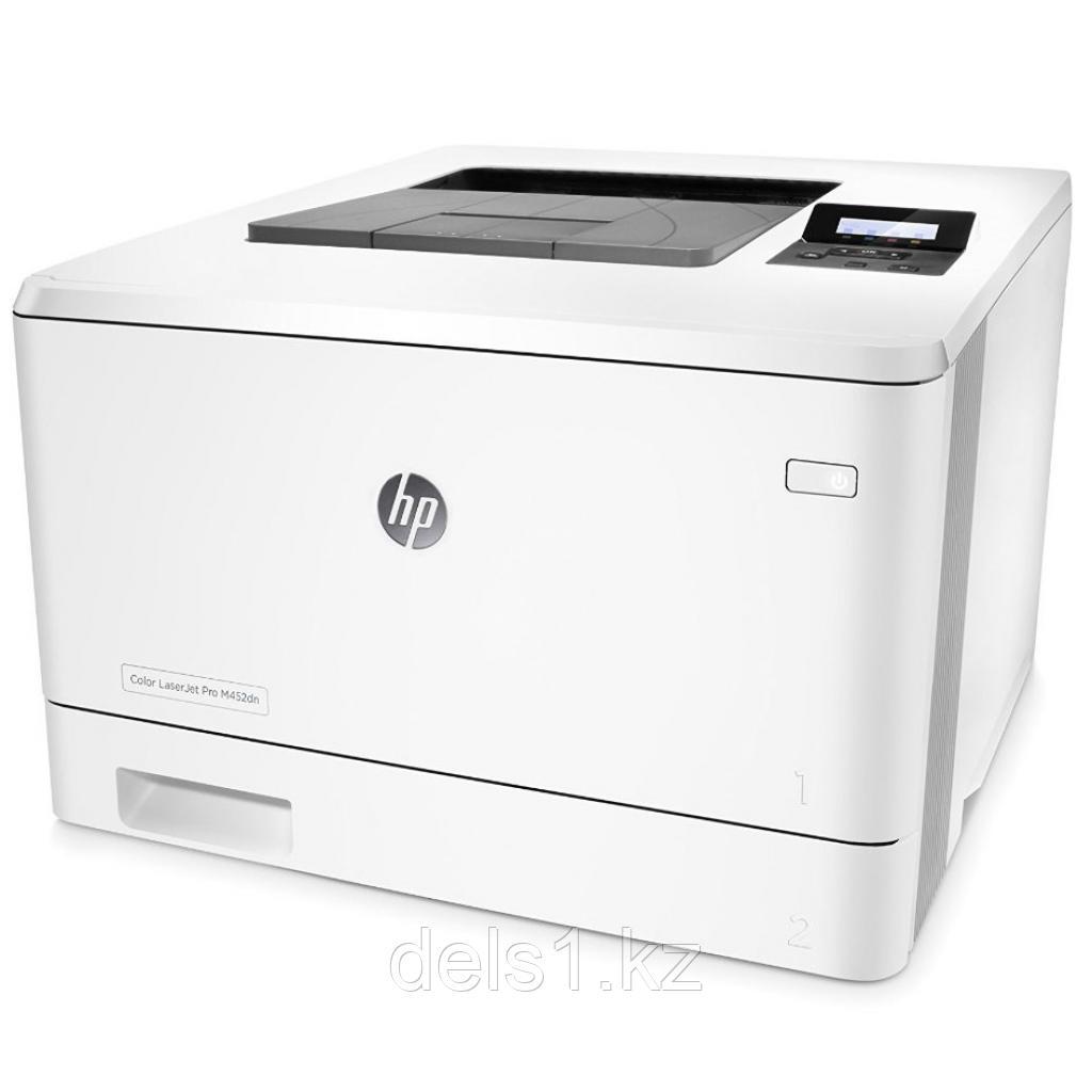 Лазерный принтер для цветной печати HP Color LaserJet Pro M452dn