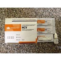 Экспресс тест для определения антител вируса гепатита С (HCV) с буферным раствором