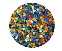 Цветная мраморная крошка 2-5 мм МИКС (блестящая)
