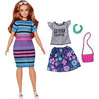 Кукла Барби Модница пышная с комплектом одежды, фото 1