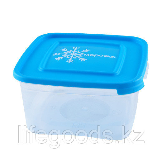 """""""Морозко"""" комплект контейнеров(3шт) для замораживания продуктов 1.0л квадратный"""