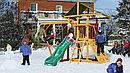 Лунтик деревянный игровой комплекс PN0001 Playnation, фото 2