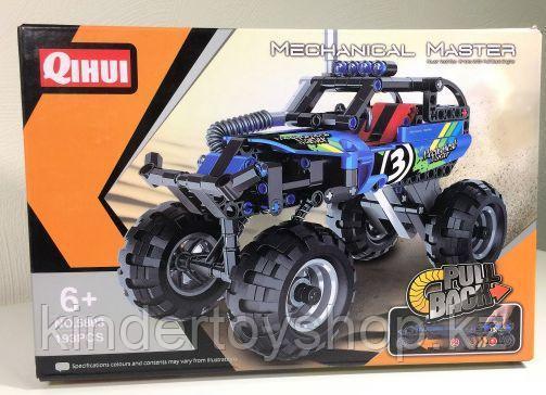 Конструктор qihui 5803 technics ''краулер джип (инерционная модель) аналог лего lego