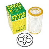 Масляный фильтр mann HU 718/5 х  элемент