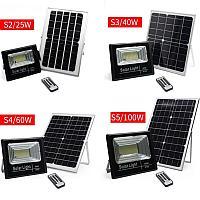 Прожектора с солнечной панелью 25W 40W 60W 100W, фото 1