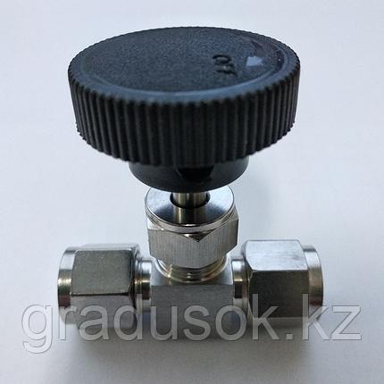 Кран игольчатый ИК-6 мм, фото 2