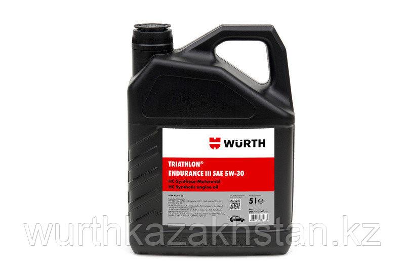 Масло TRIATHLON синтетика ENDURANCEIII-5W30, 5 л.