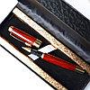 """Подарочная ручка """"под дерево""""в коробке из эко кожи"""