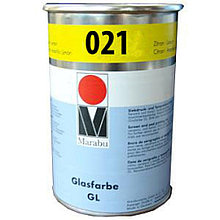 Трафаретная краска Glassfarbe GL средний-желтный