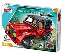 Конструктор QiHui 8017 mechanical master 2 in 1 (333 дет) аналог LEGO Technic лего техник на пульт управлнии