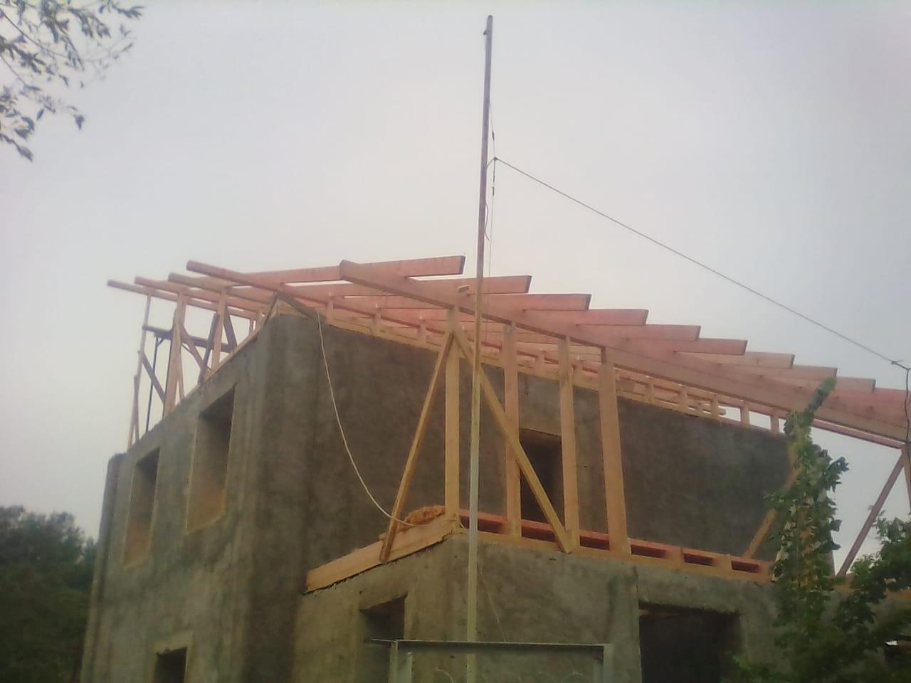 Строительство домов с черновой отделкой
