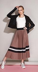 Юбка Anna Majewska-1159b, коричневый юбка, 44