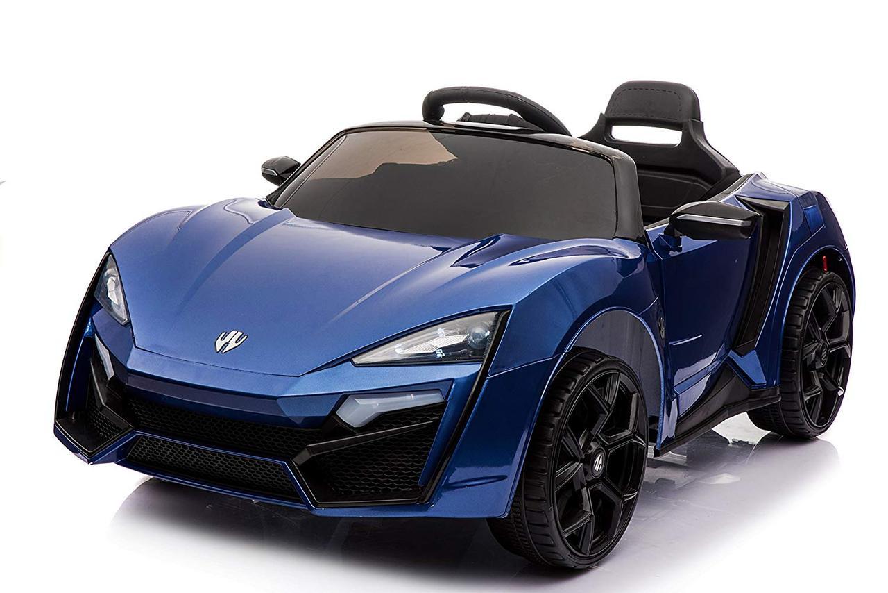 Электромобиль детский Lykan Hypersport, синий