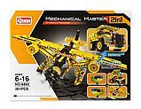 Конструктор QiHui Mechanical Master 6802 Самосвал и самолет аналог Лего Lego Technic 361 дет, фото 2