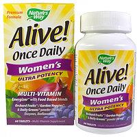 ALIVE Витамины для женщин. 60 таблеток. По 1в день.