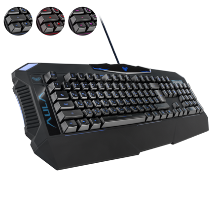 Клавиатура AULA Dragon Deep Gaming Keyboard EN/RU