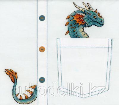 """Набор для вышивки на одежде """"Благородный дракон"""""""