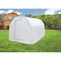 Теплица-парник «Весна XL», 4,9 × 2,15 × 1,95 м, металл, спанбонд 90 г/м²