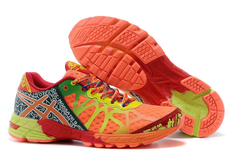Кросовки Asics Gel-Noosa  9 Generation оранжевые