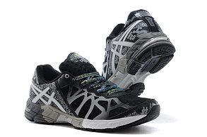 Кросовки Asics Gel-Noosa  9 Generation черно-белые, фото 3