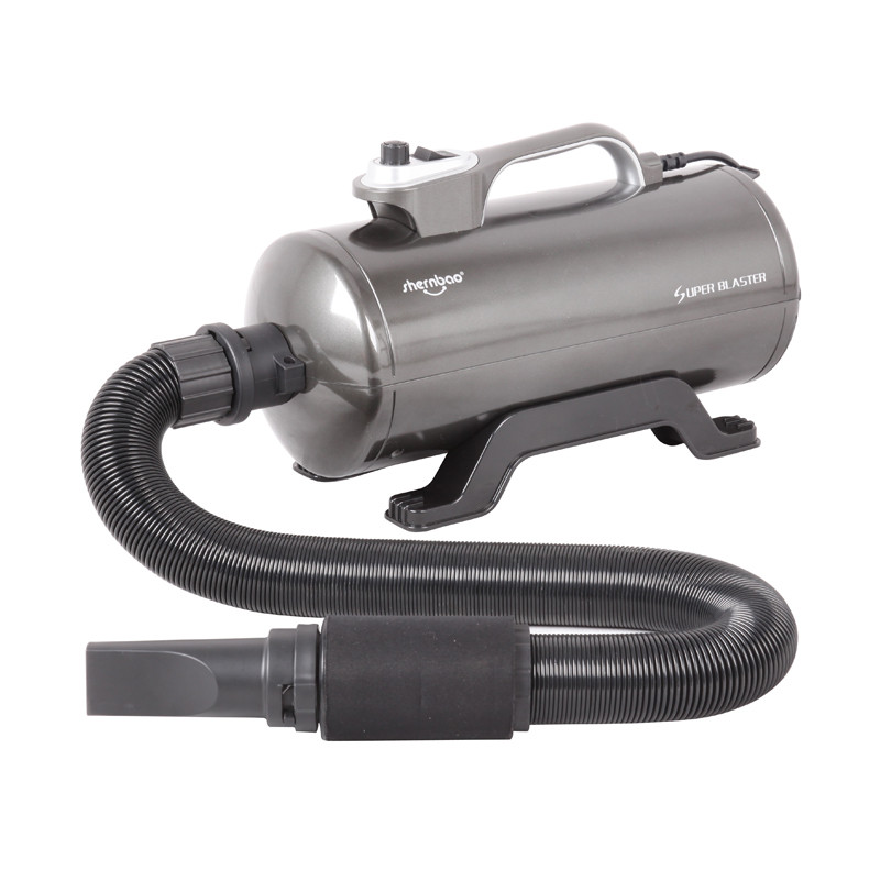 Турбосушка (обдувка, промышленный фен) DHD-2400T Super blaster (dual motor)