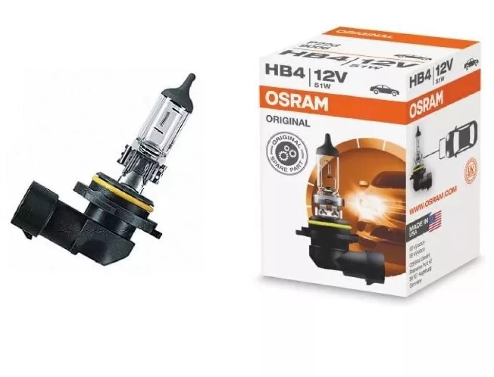 Лампа галогенная HB4 51W 12V P22d OSRAM ORIGINAL LINE