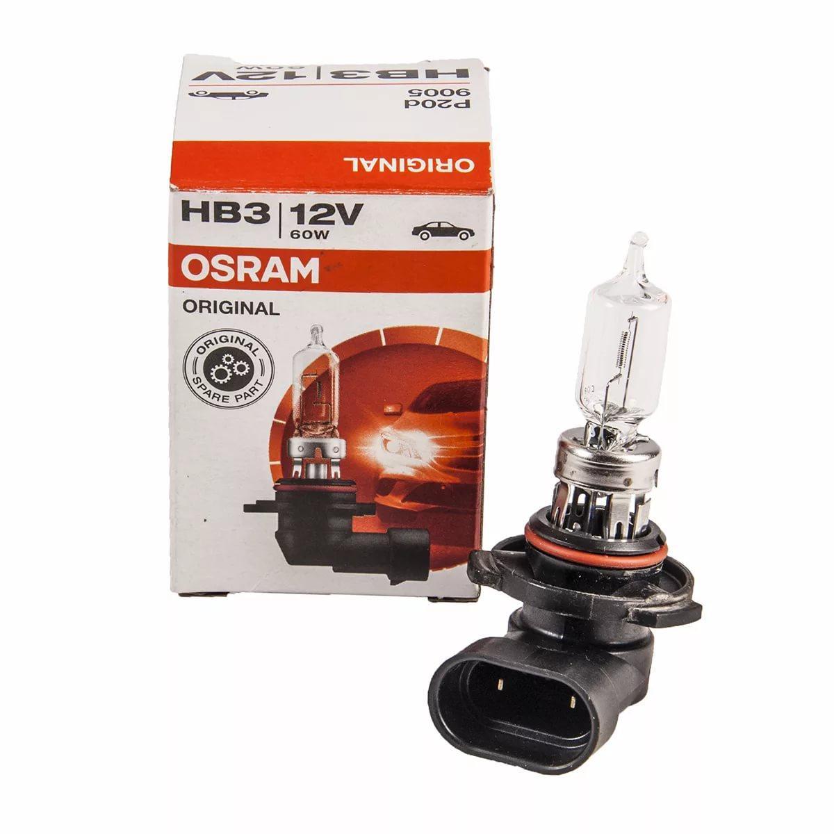 Лампа галогенная HB3 60W 12V P20d OSRAM ORIGINAL LINE