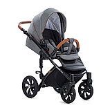 Детская коляска Tutis Mimi Style 2 в 1 Серый лён + Серый, фото 4