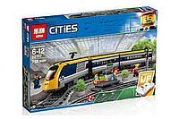 Конструктор Lego 60197, Lepin 02117 Пассажирский поезд Аналог Лего