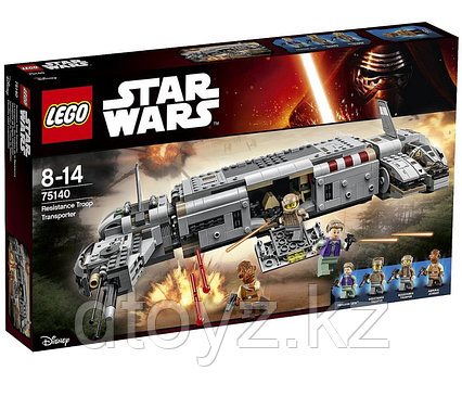 Lego Star Wars 75140 Военный транспорт Сопротивления Лего Звездные войны