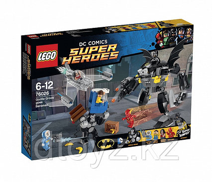 Lego DC Comics Super Heroes 76026  Супер Герои Горилла Гродд сходит с ума™ Лего Супер Герои DC