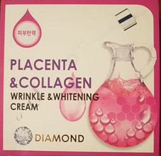 Diamond wrinkle and whitening cream placenta and collagen - Отбеливающий крем от морщин
