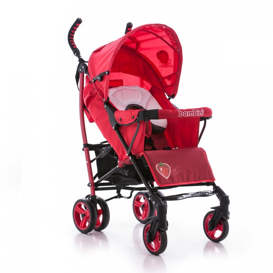 Прогулочная коляска Bambini Shuttle Red Strawberry
