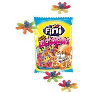 "Жев.мармелад ""Jelly Octopus"" осьминоги в сахаре 100 гр   /FINI Испания/"