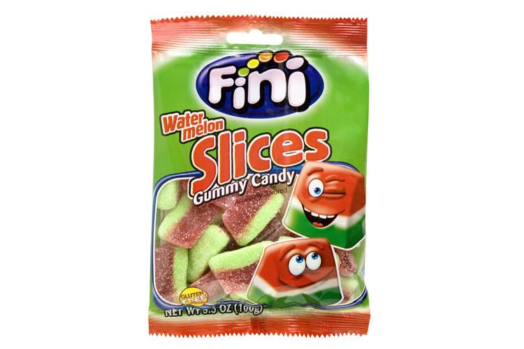 "Жев.мармелад ""Watermelon slaces"" дольки арбуза 100 гр   /FINI Испания/"