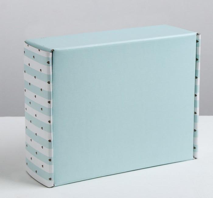 Складная коробка «Удовольствие», 27 × 9 × 21 см