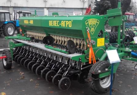 Сеялка зерновая минимальной технологии посева СЗМ-4 «Ника» прицепная
