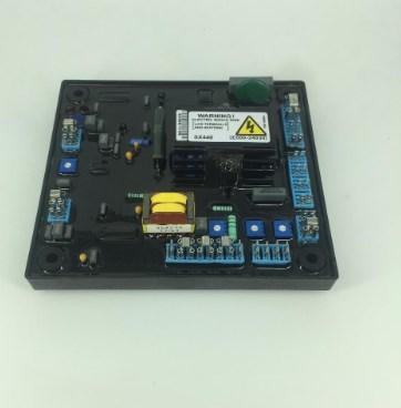 Бесщеточный генератор AVR SX440-A для дизель-генератора