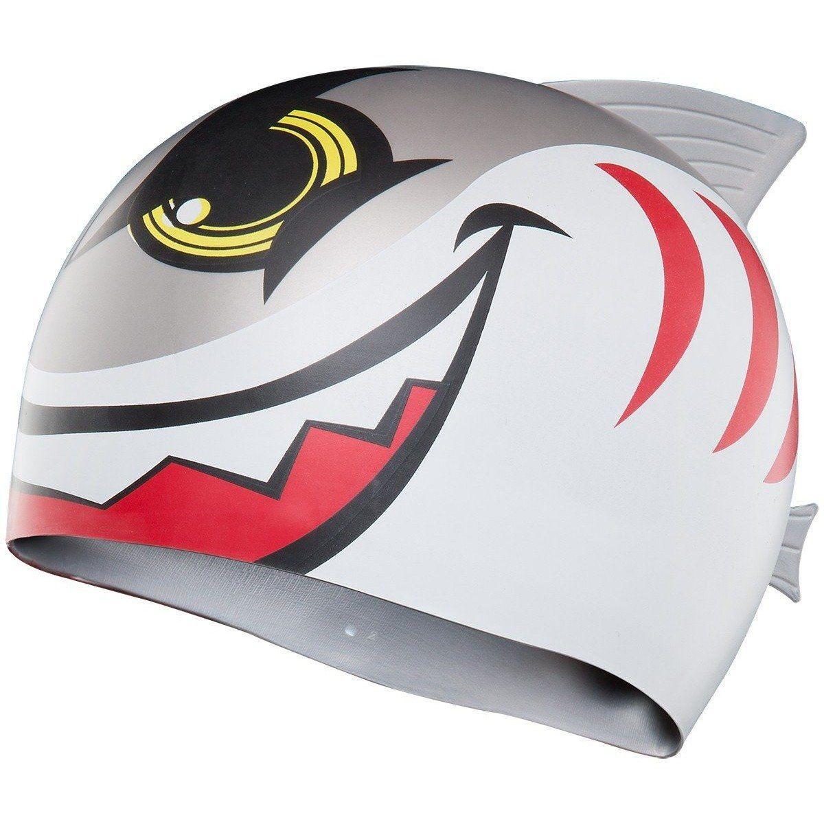 Шапочка для плавания TYR Charactyrs Shark cap 092