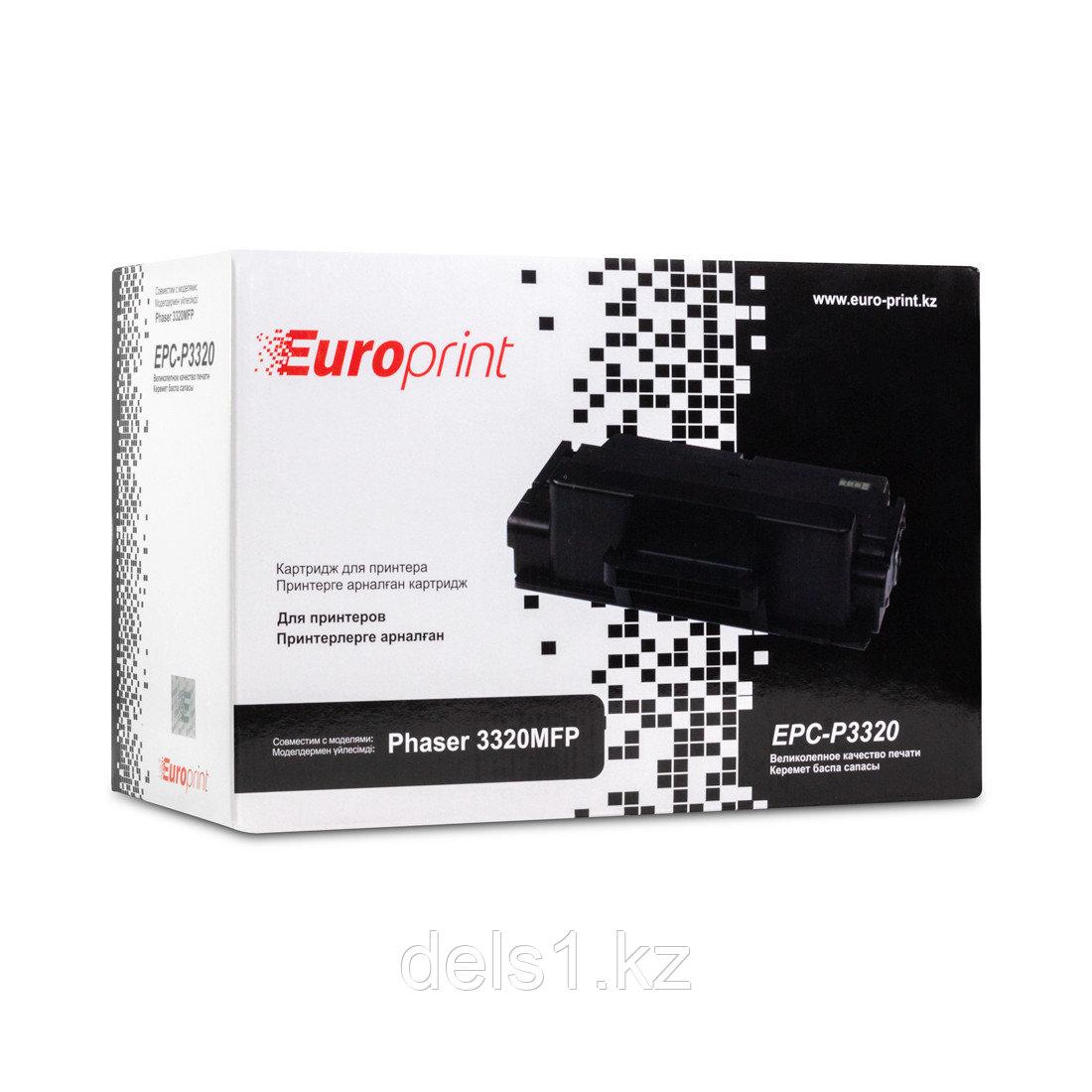 Картридж, Europrint, EPC-P3320, Для принтеров Xerox Phaser 3320MFP, 11000 страниц.