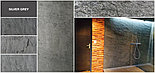 Каменный шпон Silver Grey, гибкий камень, фото 2
