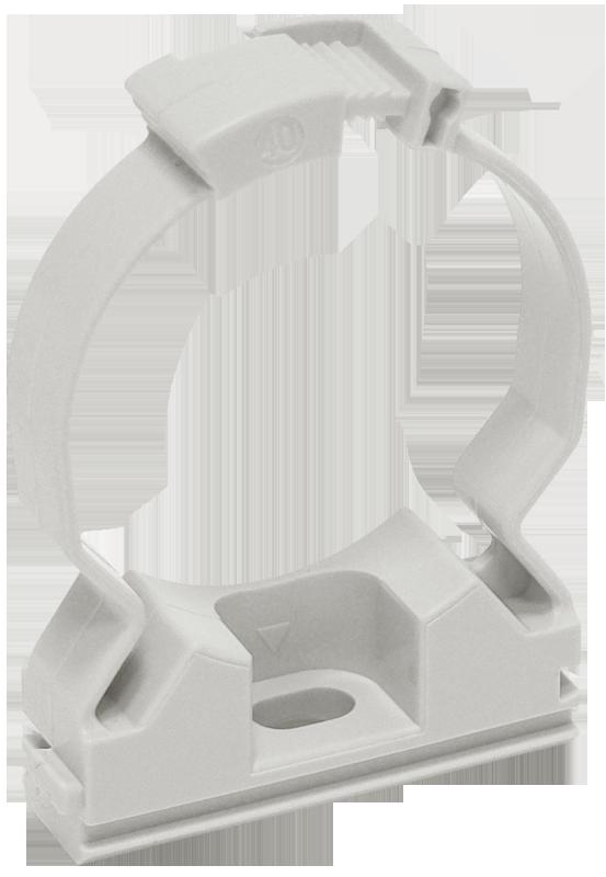 Хомутный держатель серый CFC20 IEK