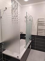 Перегородка для ванны с декорированием