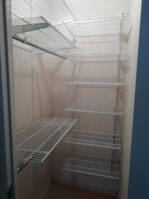 Установка ГС в гардеробной комнате 13