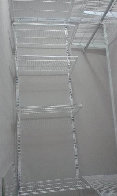 Установка ГС в гардеробную комнату 25